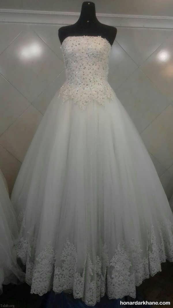 انواع لباس عروس شیک 2020
