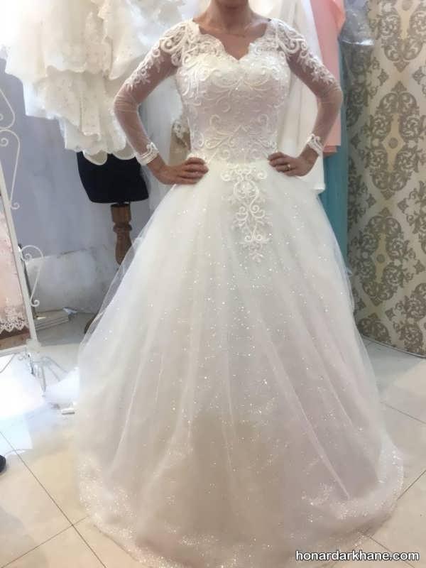 مدل های زیبا و خاص لباس عروس 2020