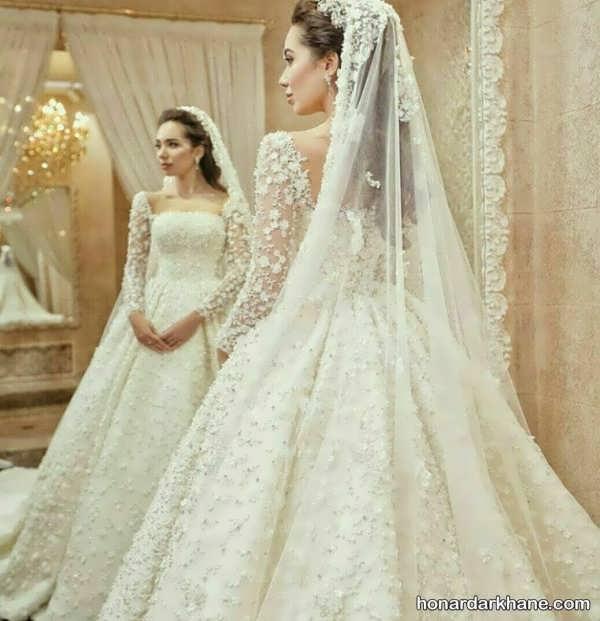 انواع لباس عروس زیبا و جدید 2020