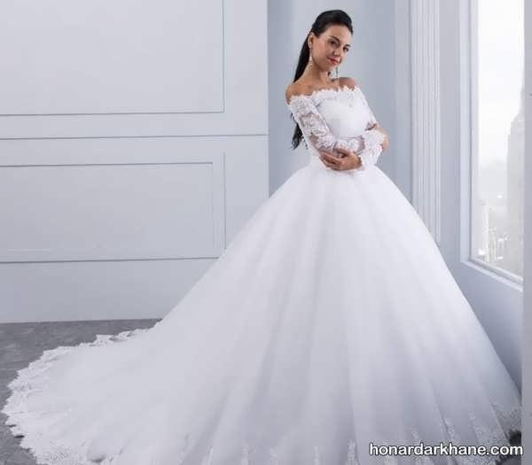 انواع لباس عروس در طرح های متفاوت