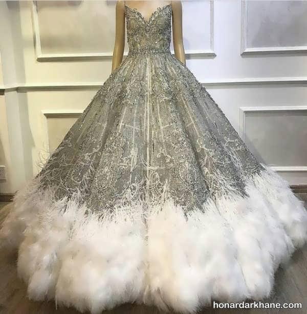 انواع لباس عروس در سبک های خاص