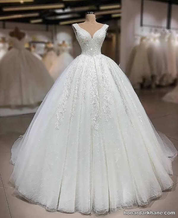 انواع لباس عروس گیپوری زیبا