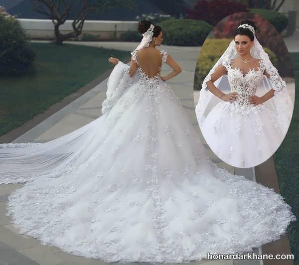 انواع لباس عروس جدید و جذاب 2020