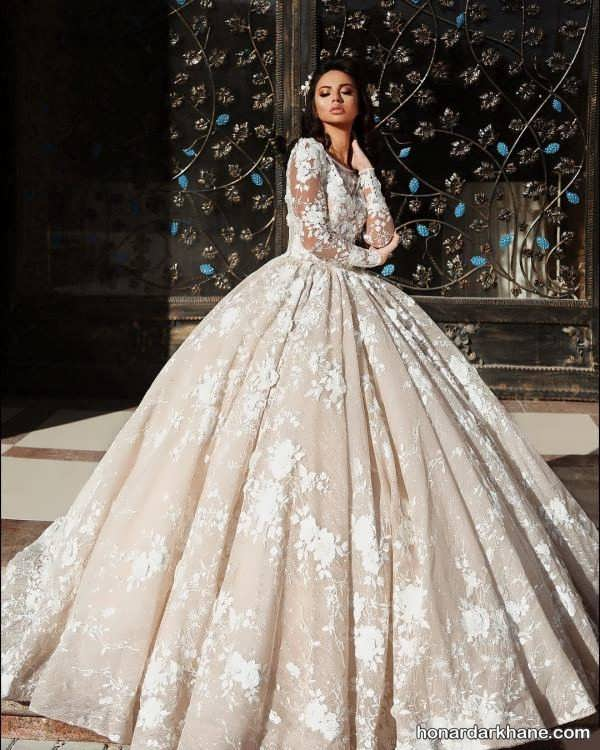 انواع لباس عروس زیبا و شیک