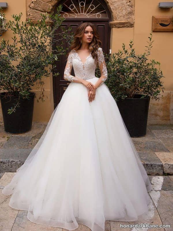 انواع لباس عروس شیک و لاکچری 2020