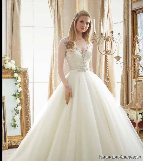 انواع لباس عروس شیک و جدید 2020