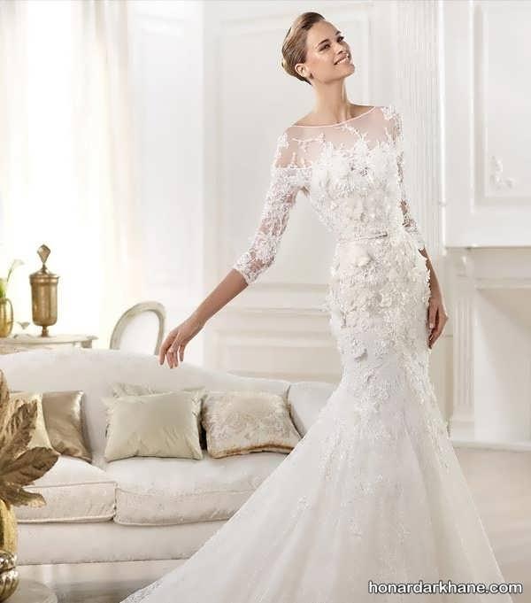 انواع لباس عروس در طرح های شیک و زیبا