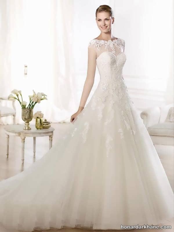 انواع لباس عروس گیپوری زیبا 2020