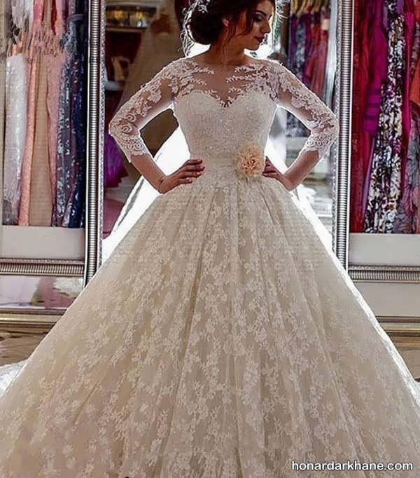 مدل های خاص و جدید لباس عروس 2020