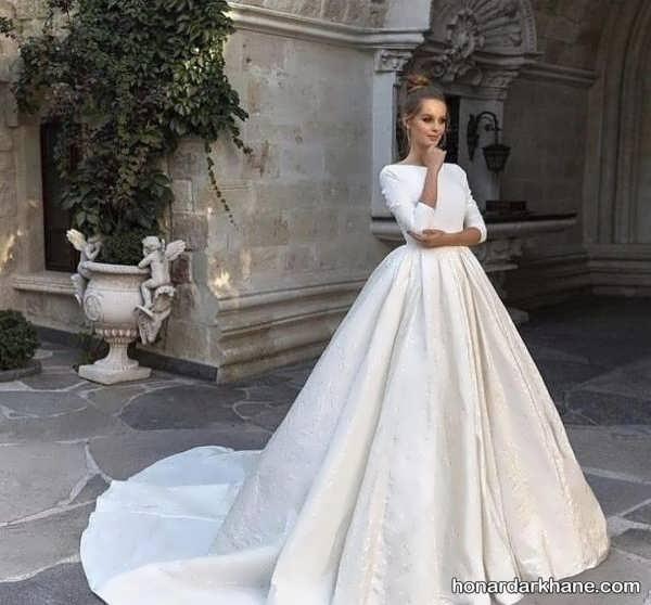 انواع لباس عروس گیپوری 2020
