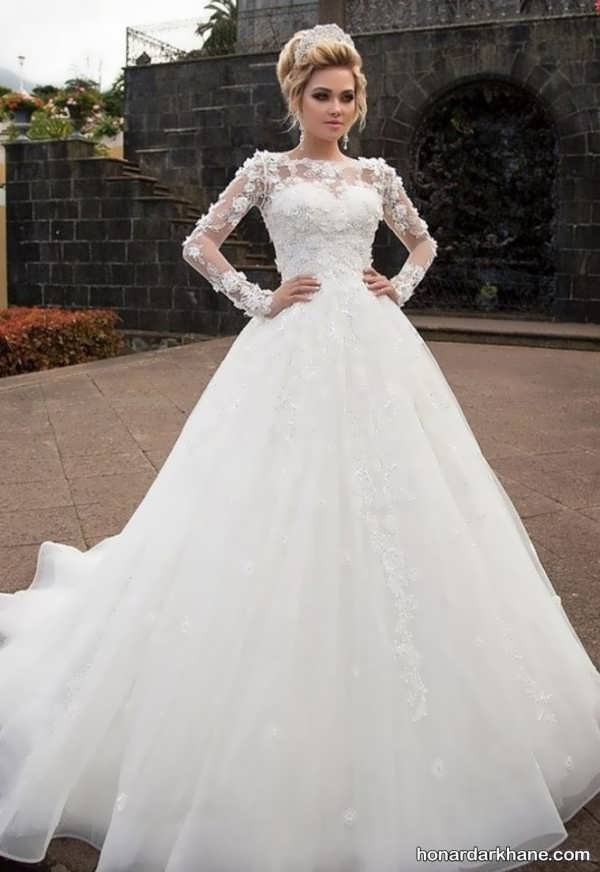 انواع مدل لباس عروس 2020