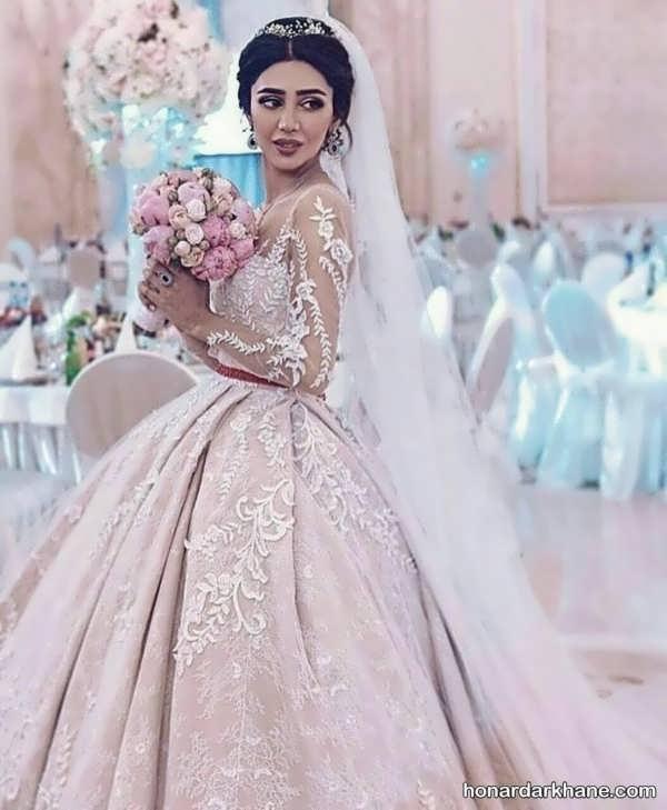انواع لباس عروس جالب و زیبا 2020