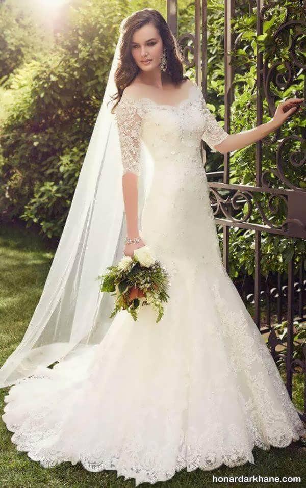 انواع مدل لباس عروس دنباله دار 2020