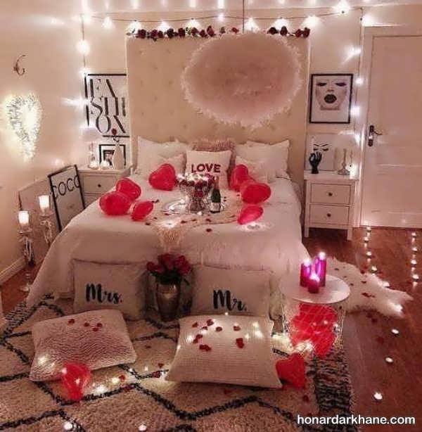 انواع دیزاین زیبا و جالب اتاق عروس