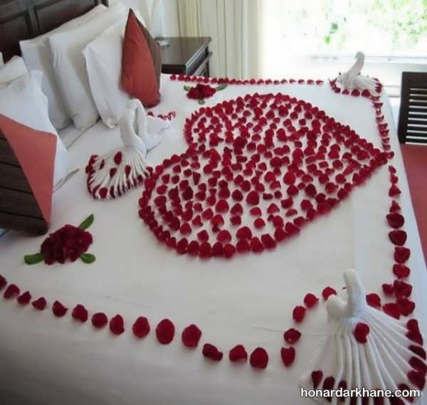 مدل های خاص و بی نظیر دیزاین اتاق عروس