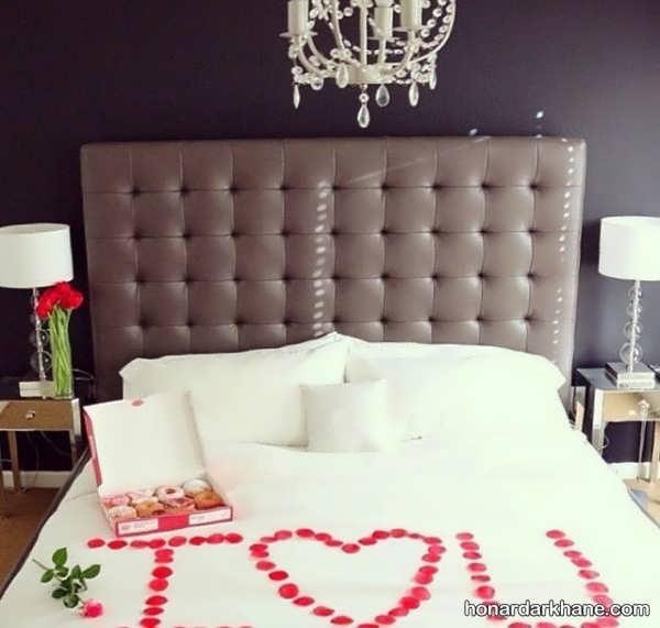 انواع تزیین شیک و خاص اتاق عروس