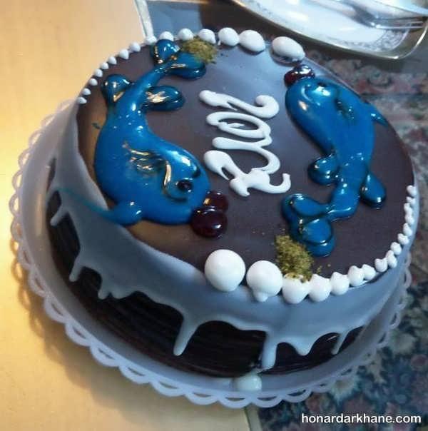انواع دیزاین جالب و خاص کیک با ژله بریلو