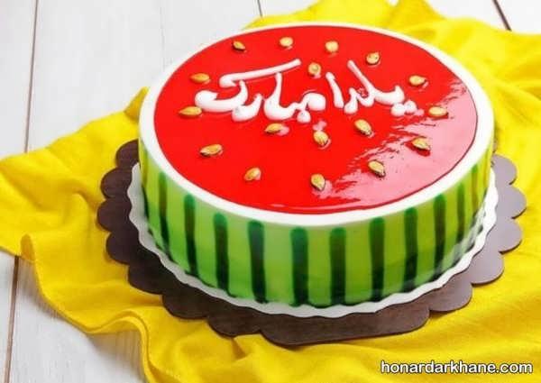 انواع کیک آرایی شیک و خاص با ژله بریلو