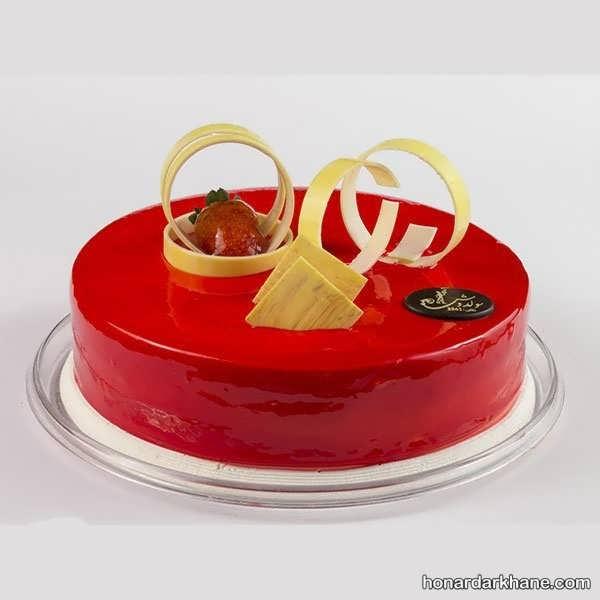 انواع دیزاین زیبا و جالب کیک با ژله بریلو