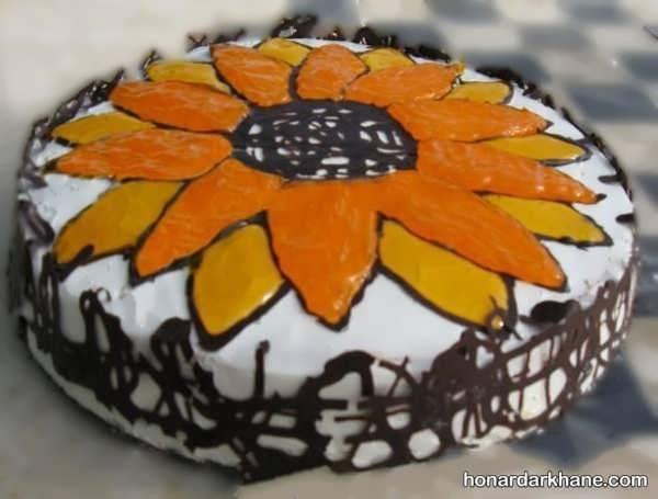 انواع تزیین کیک زیبا و جدید با ژله بریلو