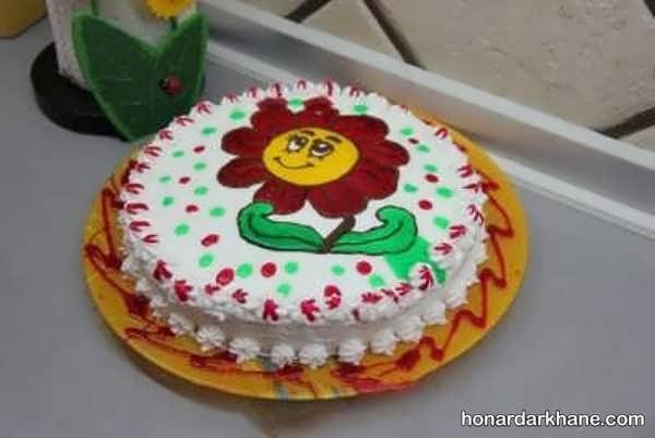 مدل های شیک و جدید کیک آرایی با ژله بریلو