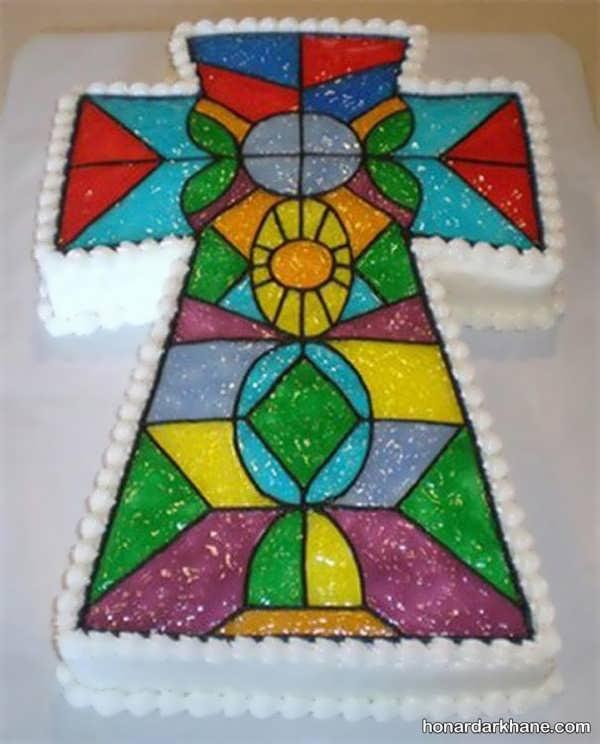 انواع دیزاین زیبا و خلاقانه کیک با ژله بریلو