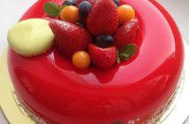 انواع تزیین کیک بسیار زیبا و شیک با ژله بریلو