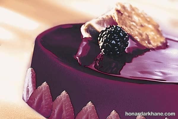 انواع دیزاین خاص و جذاب کیک با ژله بریلو