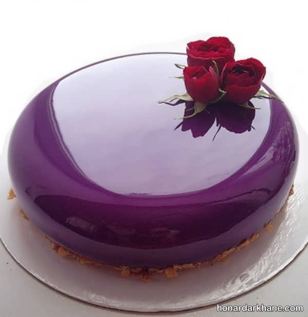 انواع کیک آرایی جذاب و زیبا با ژله بریلو
