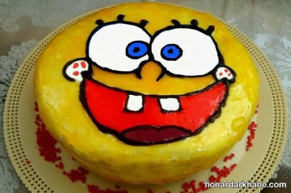 انواع تزیین کیک جذاب با ژله بریلو