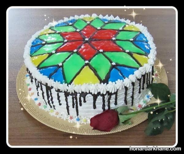 مدل های بسیار زیبا و جالب دیزاین کیک با ژله بریلو