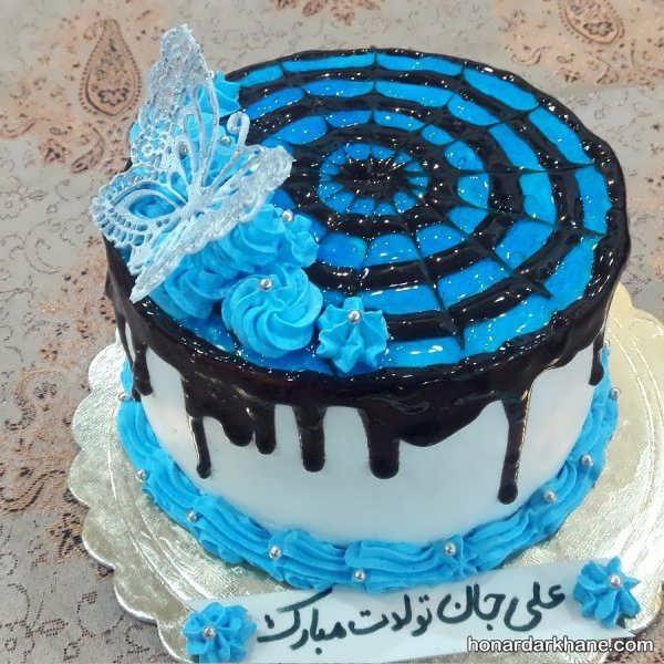 انواع تزیین کیک زیبا و خلاقانه با ژله بریلو