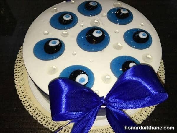 مدل های شیک و جذاب دیزاین کیک با ژله بریلو