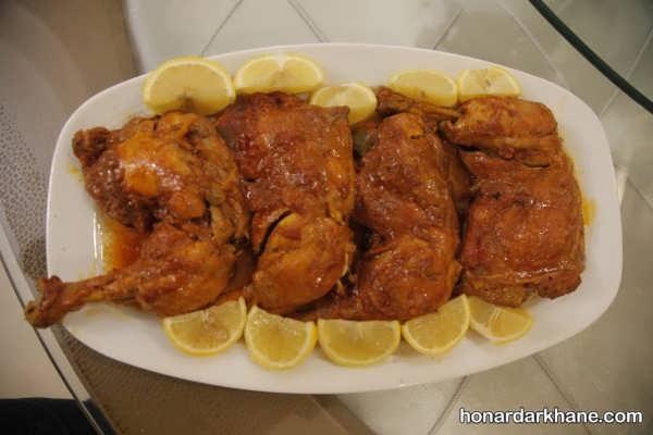 انواع تزیین مرغ به سبک های جالب و جدید