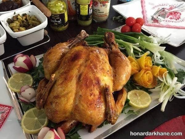 انواع دورچین مرغ به شکل های مختلف