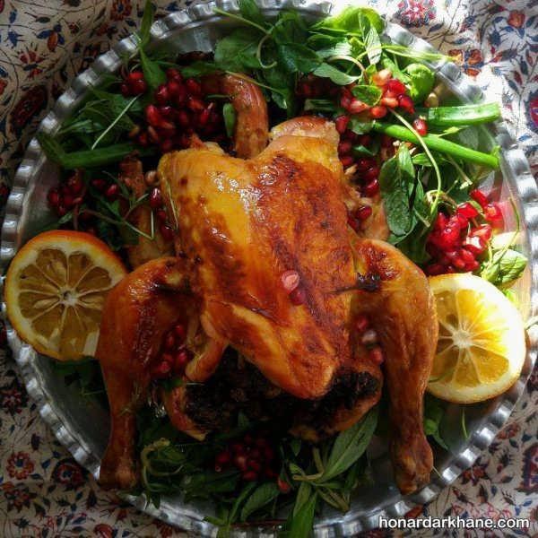 انواع دیزاین جالب مرغ شکم پر