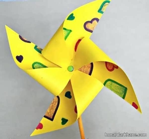 مدل های زیبا و خلاقانه کاردستی با کاغذ