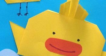 انواع کاردستی کودکانه زیبا و جالب با کاغذ