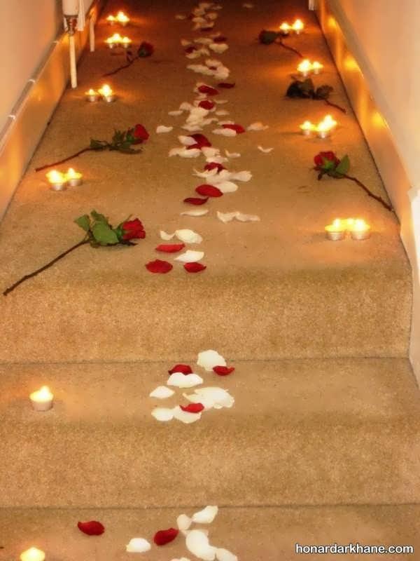 انواع دیزاین زیبا و عاشقانه تولد با شمع وارمر