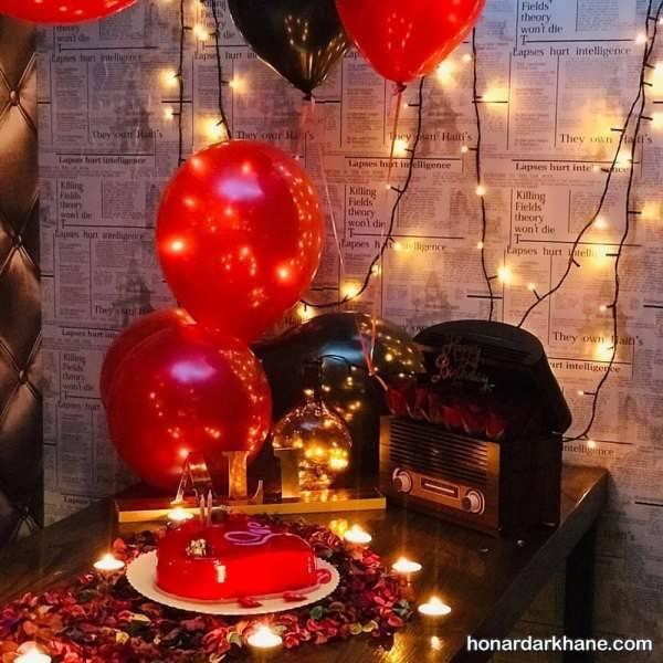 انواع دیزاین جالب و رمانتیک با شمع وارمر