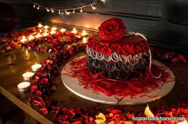 انواع تزیین جذاب و زیبا با گل و شمع