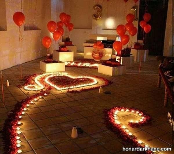 انواع تزیین شیک و رمانتیک با شمع وارمر