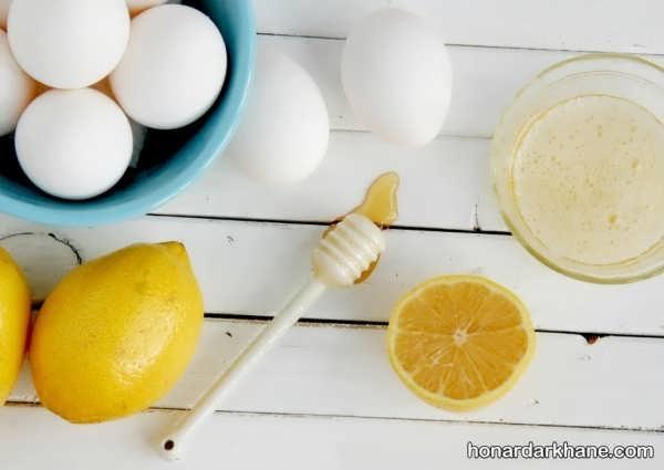 روش آماده سازی انواع ماسک با تخم مرغ