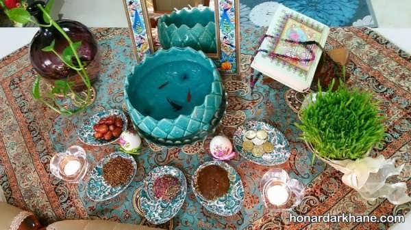 انواع دکوراسیون میز هفت سین به سبک های مختلف