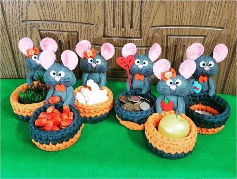۴۵ مدل هفت سین سال موش با تزیین زیبا و خاص برای نوروز ۹۹