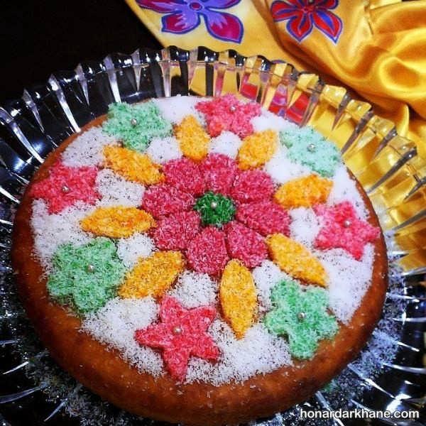 انواع تزیین بسیار زیبا و جالب کیک در خانه