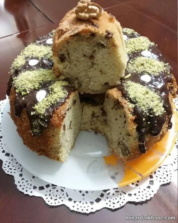 انواع آراستن کیک به روش های ساده