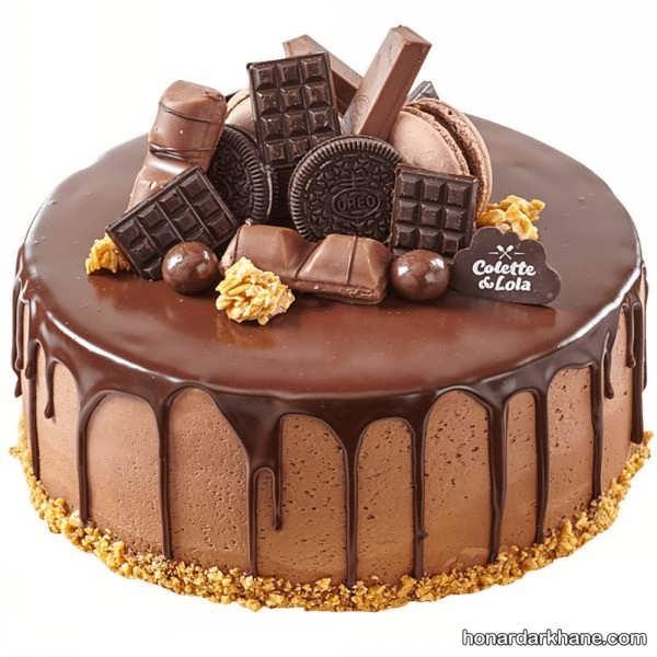 انواع تزیین کیک با خامه و میوه