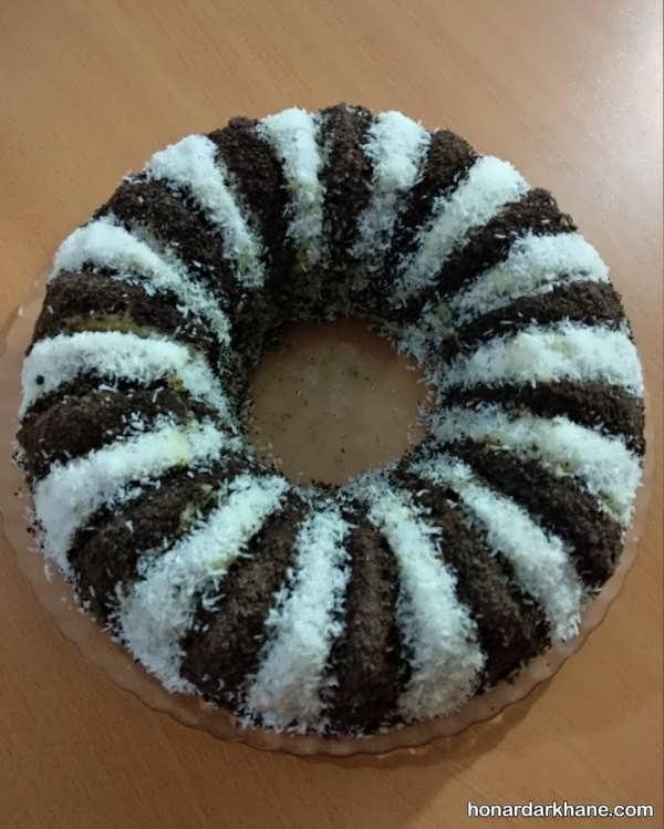 انواع تزیین خلاقانه و زیبا کیک خانگی