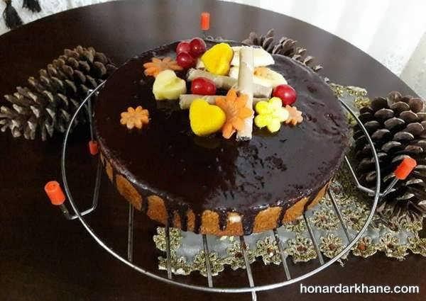 ایده های جدید و جالب آذین کیک خانگی